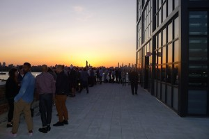 A View from the Ides Rooftop Bar