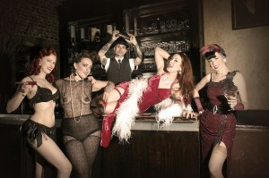 Burlesque at the Haberdasher
