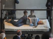 Tilda Swinton Sleeps in a Glass Box at MOMA