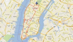 Route of NY Post Bus Tour
