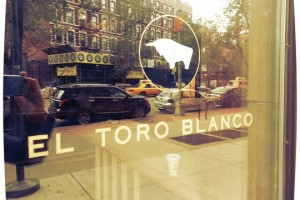 4. El Toro Blanco for Dinner