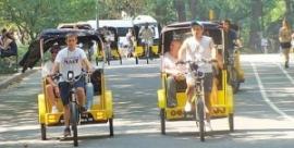 1. Hop in a Pedicab!