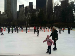 Wolman Rink in Central Park