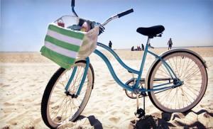 Bike on the Strand