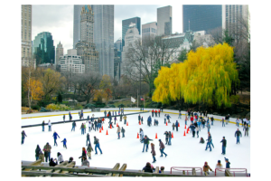 Ice Skate in Central Park at Wolman Rink